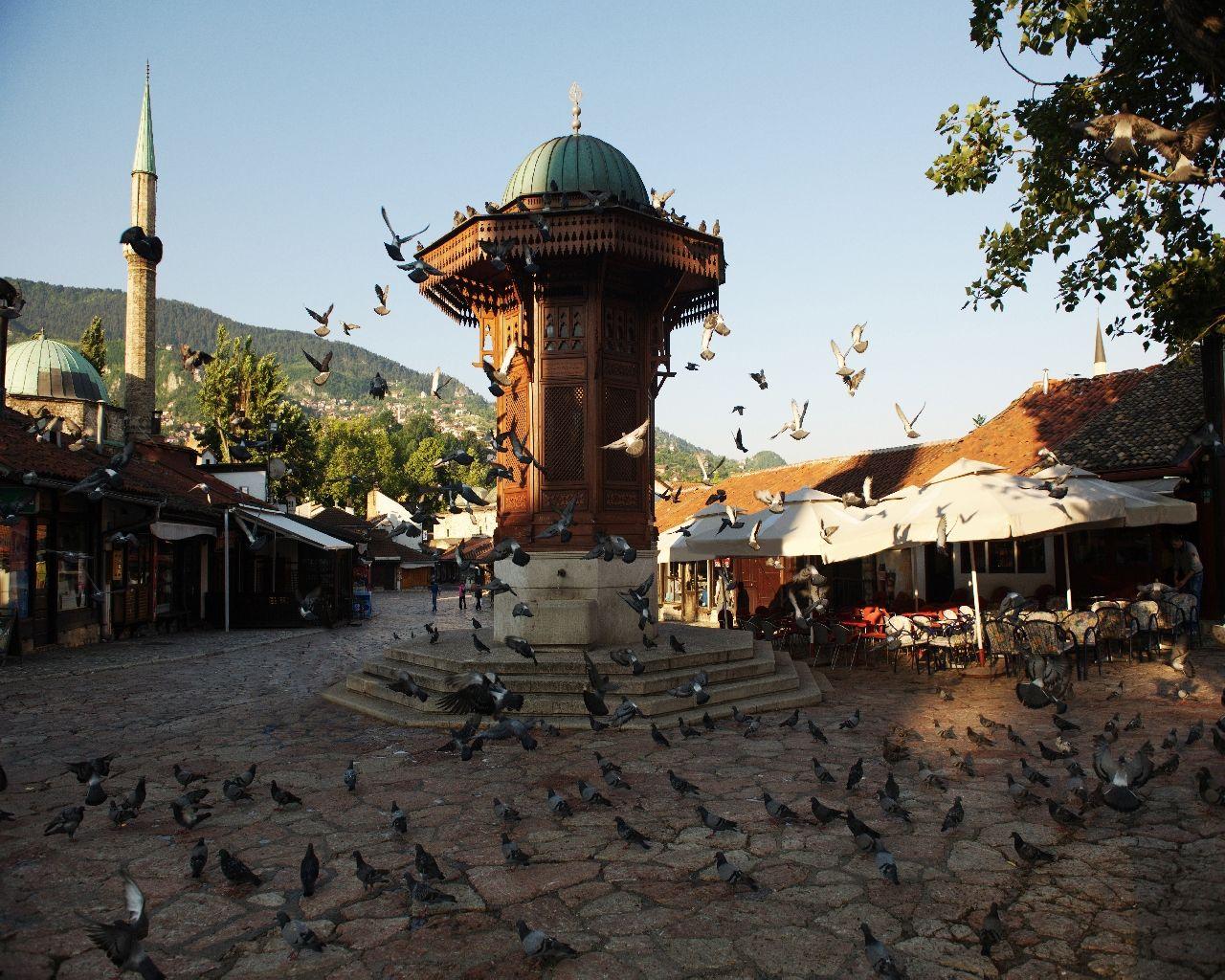 Sarajevo Putovanje Europski Gradovi Akcijska Cijena Svijet Putovanja
